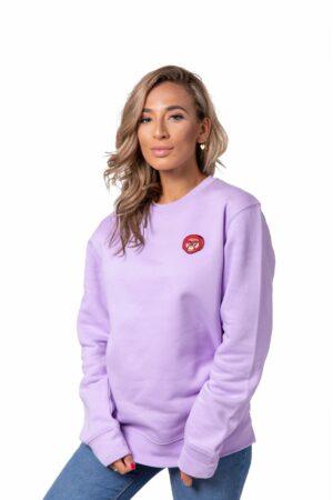 Bulan Kepala Sweater Lavendel Vrouw Scaled