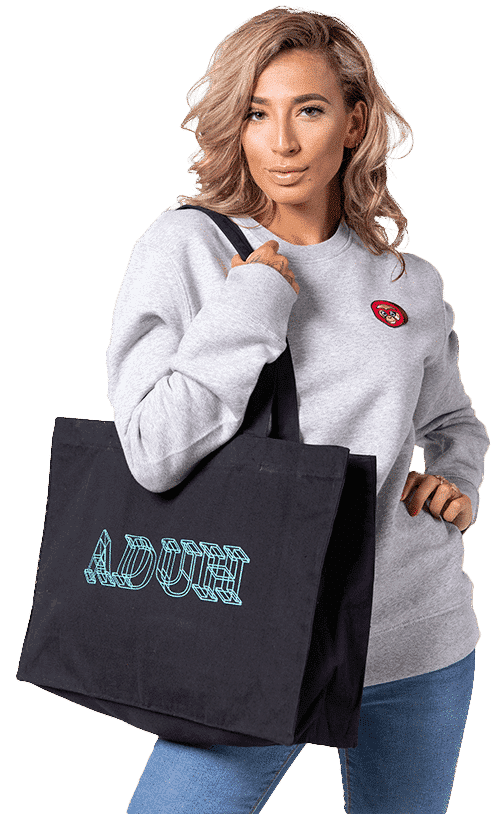 3D Tote Bag Home Email
