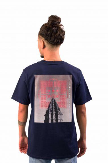 Prambanan Blauw Man Achter Scaled
